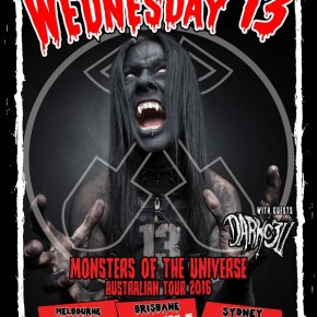 MUSIC: DARKC3LL ADDED TO WEDNESDAY 13 TOUR!
