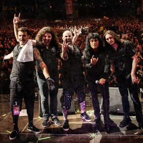 ANTHRAX DEBUT EPIC VIDEO CLIP FOR 'BLOOD EAGLE WINGS'