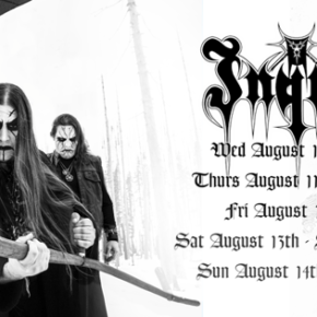 LEGENDARY BLACK METAL HORDE, INQUISITION ARE COMING TO AUSTRALIA THIS AUGUST!