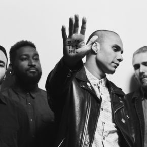 LETLIVE. JUST RELEASED THEIR HOTLY ANTICIPATED NEW ALBUM: IF I'M THE DEVIL…