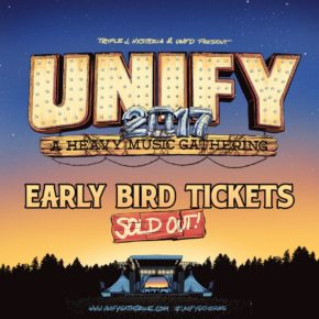 UNIFY EARLY BIRD TICKETS SOLD OUT WITHOUT LINEUP ANNOUNCEMENT!
