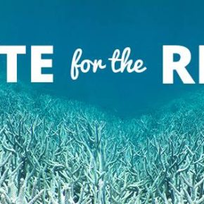 LUSH ASKS YOU TO VOTE FOR THE REEF THIS ELECTION