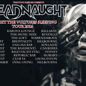 DREADNAUGHT RETURN WITH NEW ALBUM AND TOUR DATES!