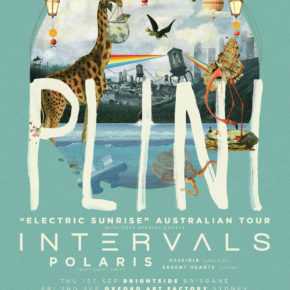 PLINI ANNOUNCES ELECTRIC SUNRISE AUSTRALIAN TOUR, WITH INTERVALS