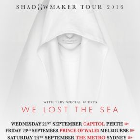 APOCALYPTICA TO TOUR AUSTRALIA THIS SEPTEMBER WITH SPECIAL GUESTS: WE LOST THE SEA!