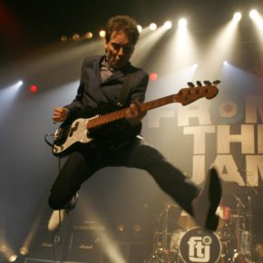'70S PUNK ROCKER, BRUCE FOXTON SHOWS NO SIGN OF SLOWING DOWN!