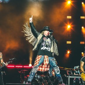GUNS N' ROSES NOT IN THIS LIFETIME TOUR COMMENCES IN AUSTRALIA IN THREE WEEKS!