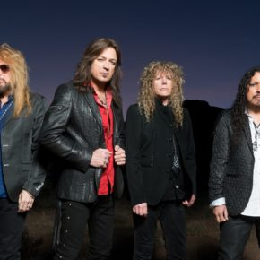[INTERVIEW] STRYPER'S MICHAEL SWEET ON GOD DAMN EVIL