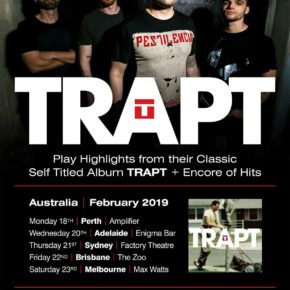 [NEWS] TRAPT ANNOUNCE AUSSIE 2019 TOUR